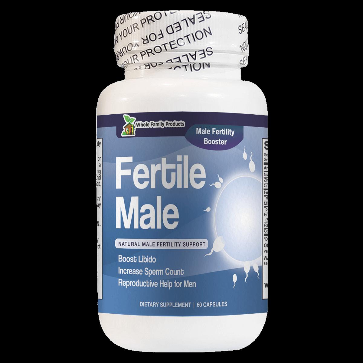 Fertile Male Best Male Fertility Supplement for Male